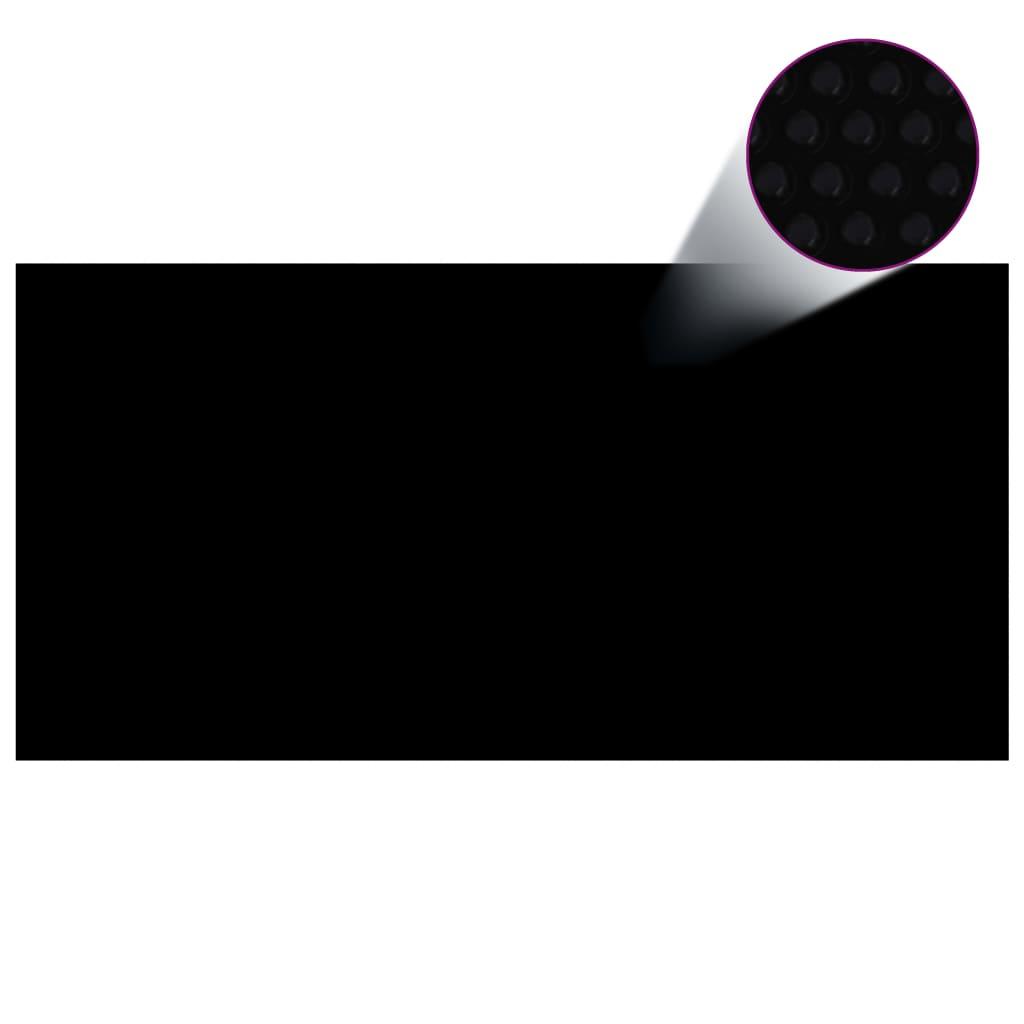 Basseinikate, must, 975 x 488 cm, PE