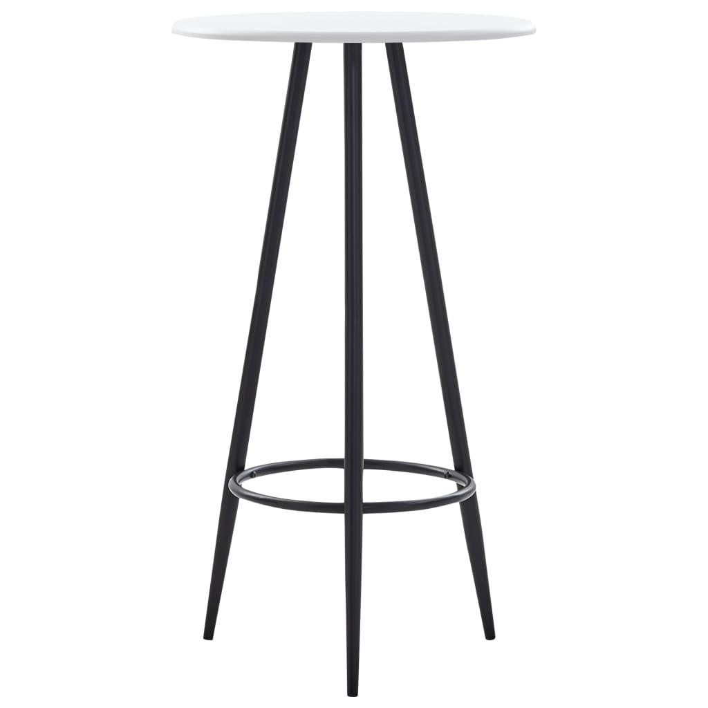 Barový stůl bílý 60 x 107,5 cm MDF