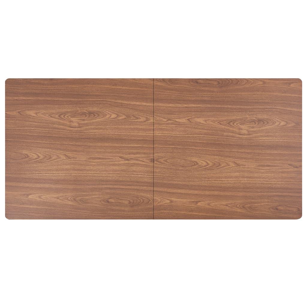 Söögilaud, pruun, 160 x 80 x 75 cm, MDF