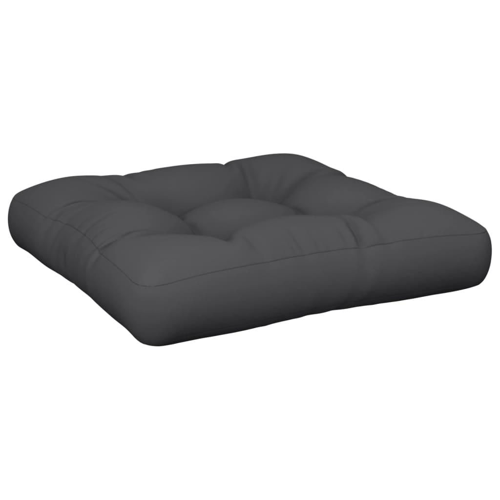 vidaXL Pernă scaun de grădină, negru, 50 x 50 x 10 cm, material textil imagine vidaxl.ro