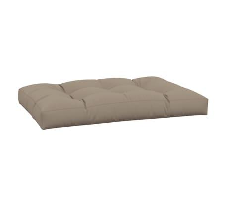 vidaXL Tuinkussen 120x80x10 cm stof taupe[4/5]