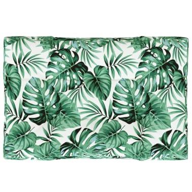 vidaXL Tuinkussen 120x80x10 cm stof groen[2/5]