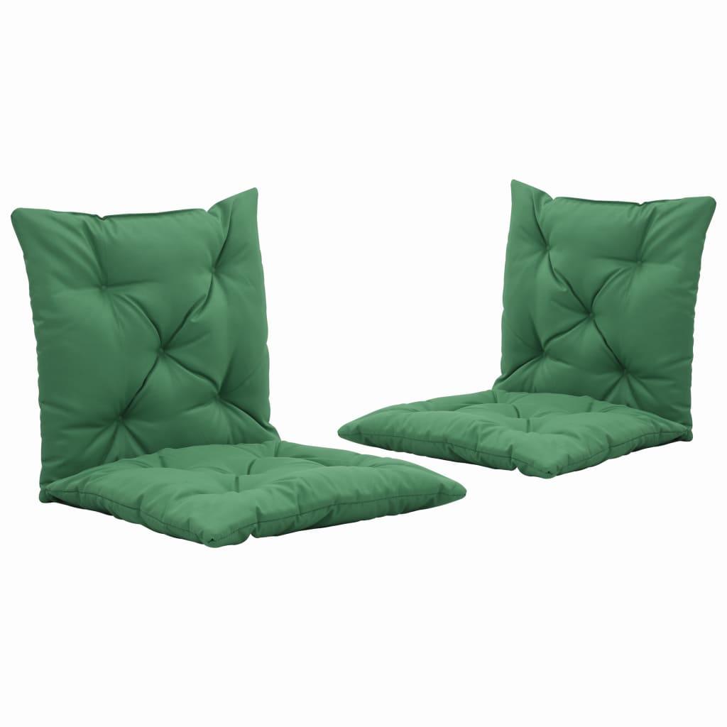 vidaXL Perne pentru balansoar, 2 buc., verde, 50 cm vidaxl.ro