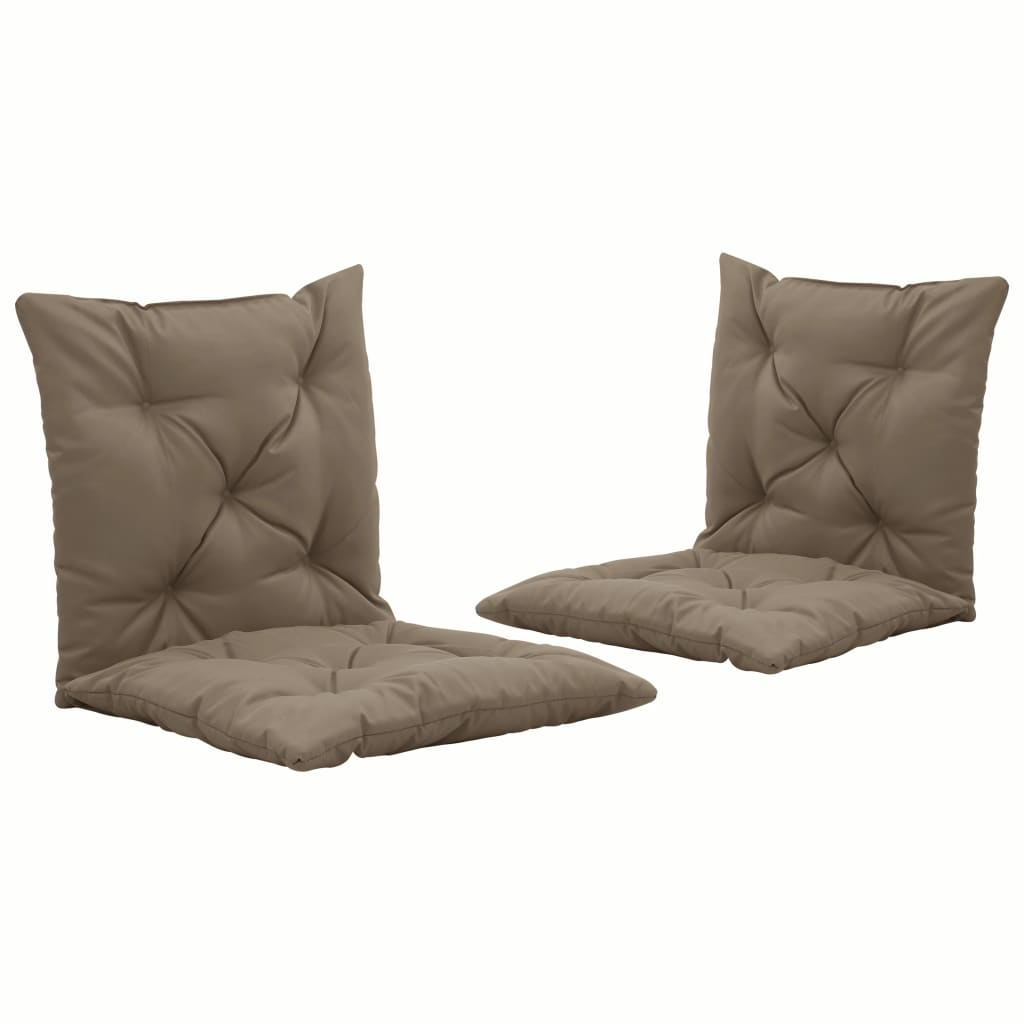 vidaXL Perne pentru balansoar 2 buc., gri taupe, 50cm, material textil poza vidaxl.ro