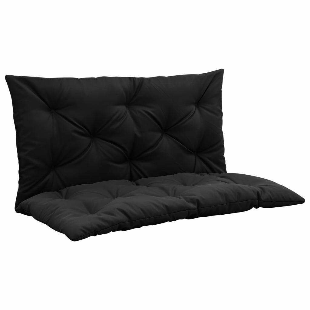 vidaXL Pernă pentru balansoar, negru, 100 cm, material textil poza vidaxl.ro