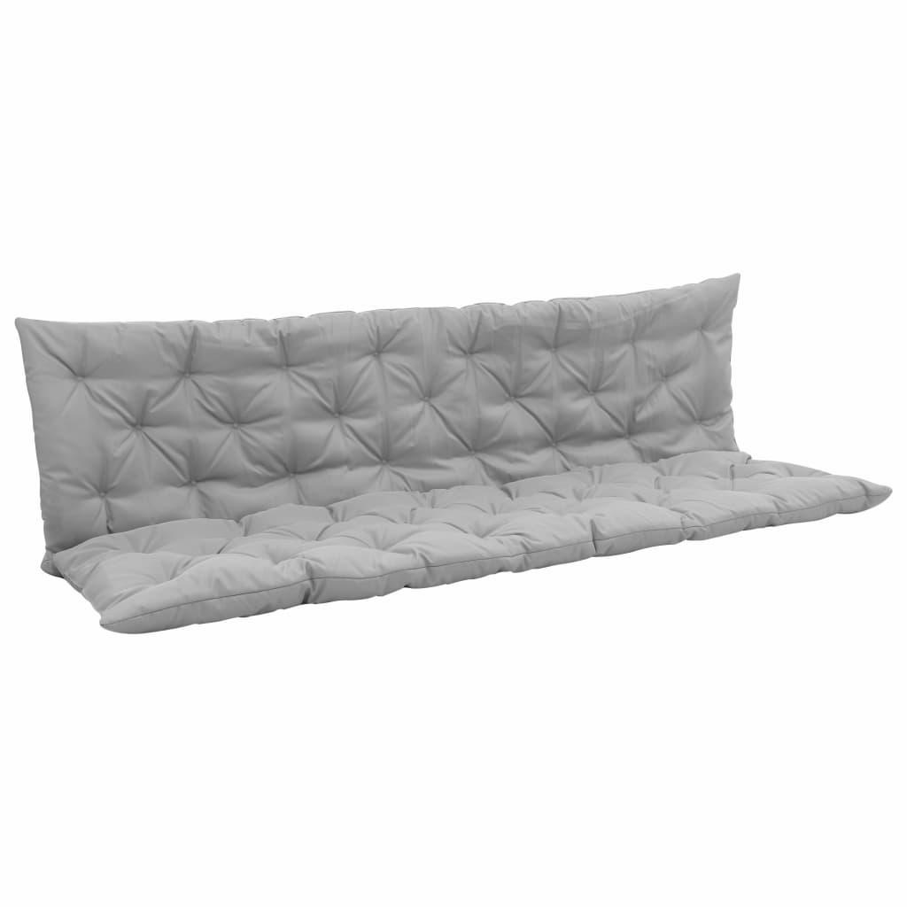 vidaXL Pernă pentru balansoar, gri, 200 cm, material textil poza 2021 vidaXL