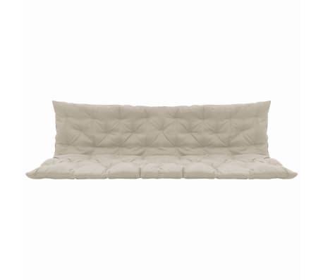 vidaXL Cojín para Balancín Color Crema 200 cm Hamaca