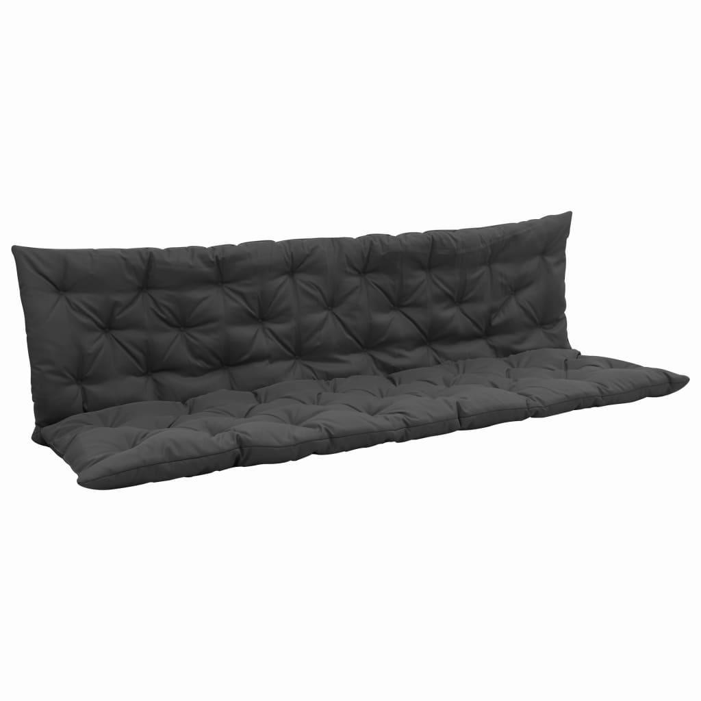 vidaXL Pernă pentru balansoar, antracit, 200 cm, material textil vidaxl.ro