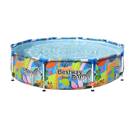 Bestway Ensemble de piscine Steel Pro Cadre 305x66 cm