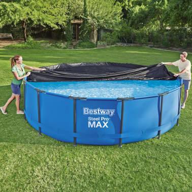 Bestway Couverture de piscine Flowclear 457 cm[1/8]