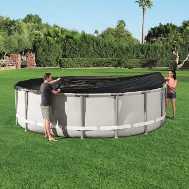 Bestway Couverture de piscine Flowclear 488 cm[4/7]