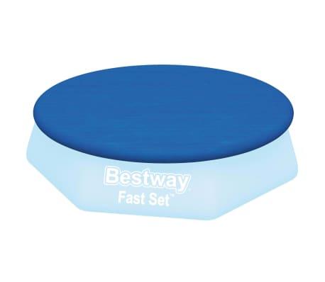 Bestway Couverture de piscine Flowclear Fast Set 305 cm[2/8]