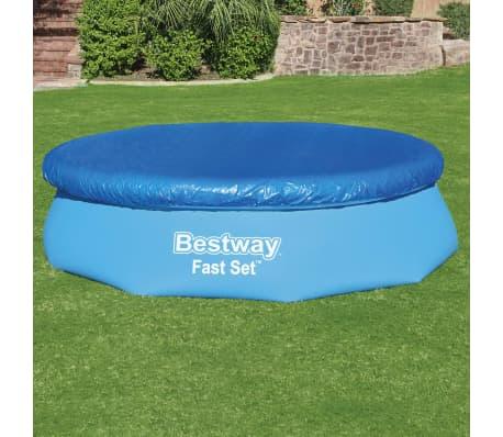 Bestway Couverture de piscine Flowclear Fast Set 305 cm[3/8]