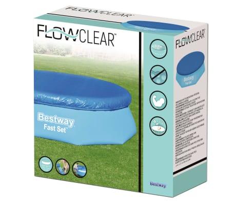 Bestway Couverture de piscine Flowclear Fast Set 305 cm[8/8]