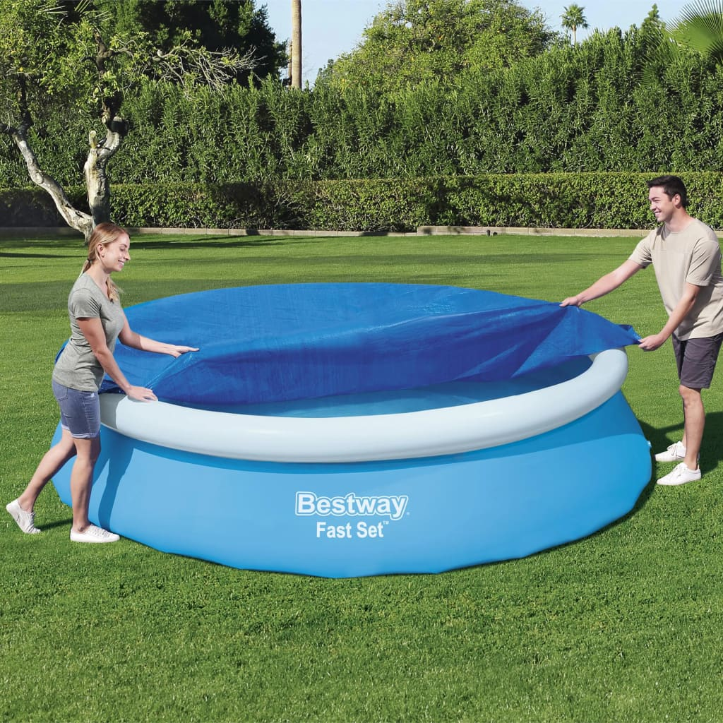 Bestway Prelată de piscină Fast Set Flowclear, 366 cm poza vidaxl.ro