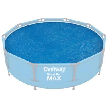 Bestway Couverture solaire de piscine Flowclear 305 cm[2/8]