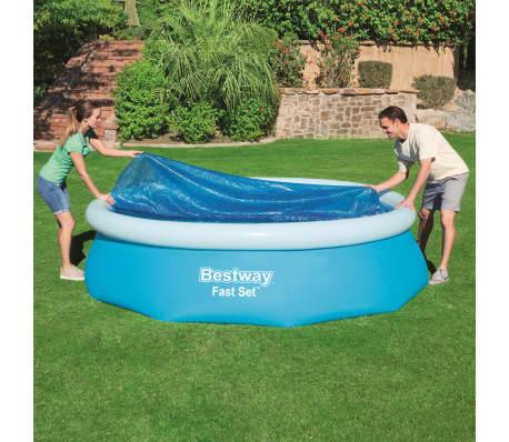 Bestway Couverture solaire de piscine Flowclear 305 cm[3/8]