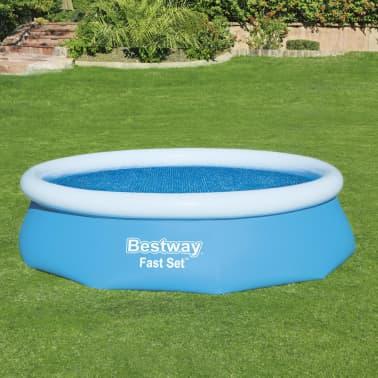 Bestway Couverture solaire de piscine Flowclear 305 cm[4/8]