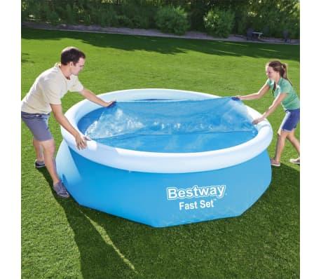Bestway Couverture solaire de piscine Flowclear 305 cm[1/8]