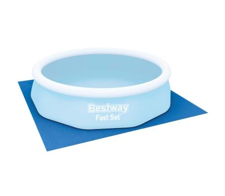 Bestway Tapis de sol pour piscine Flowclear 335x335 cm