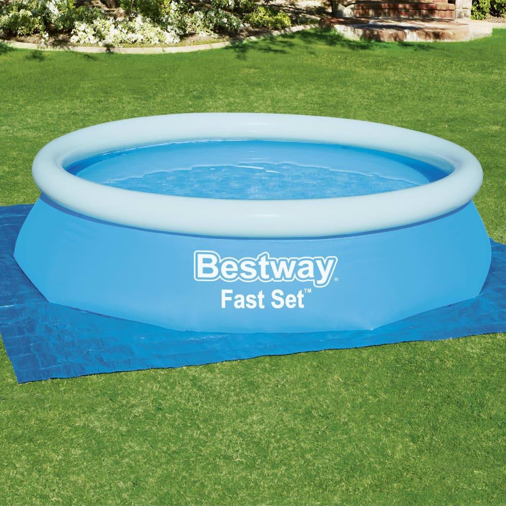 Bestway Pânză de sol pentru piscină Flowclear, 335 x 335 cm vidaxl.ro