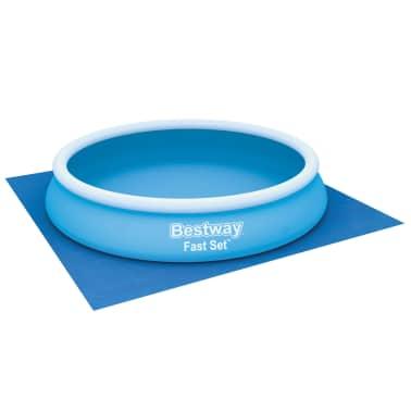 Bestway Tapis de sol pour piscine Flowclear 396x396 cm[2/7]