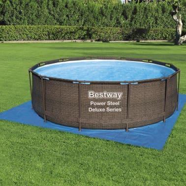 Bestway Tapis de sol pour piscine Flowclear 396x396 cm[3/7]