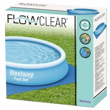 Bestway Tapis de sol pour piscine Flowclear 396x396 cm[7/7]