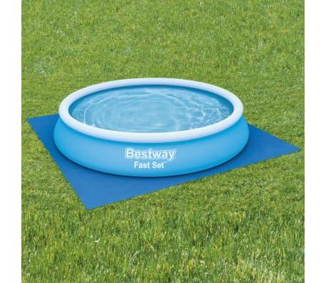 Bestway Tapis de sol pour piscine Flowclear 396x396 cm[1/7]