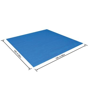Bestway Tapis de sol pour piscine Flowclear 488x488 cm[7/9]
