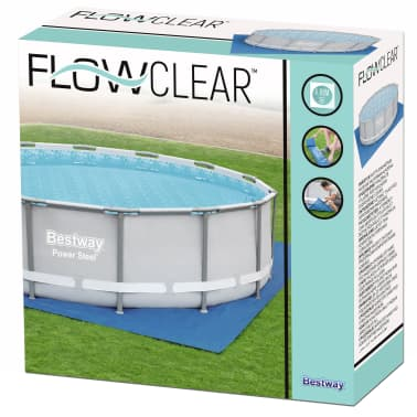 Bestway Tapis de sol pour piscine Flowclear 488x488 cm[8/9]
