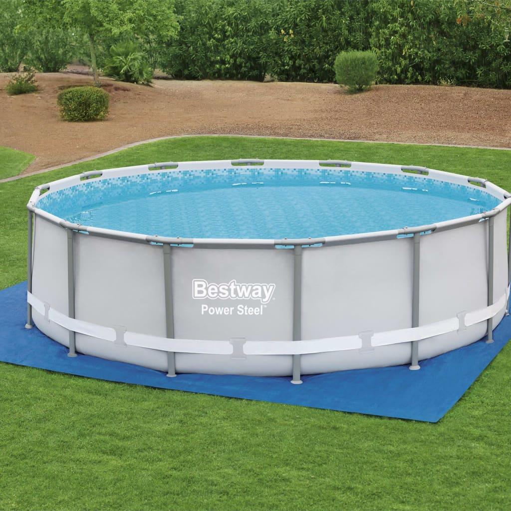 Bestway Pânză de sol pentru piscină Flowclear, 488 x 488 cm imagine vidaxl.ro