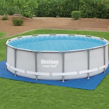 Bestway Tapis de sol pour piscine Flowclear 488x488 cm[1/9]