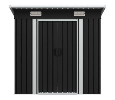 vidaXL Tuinhuis staal antraciet[2/8]