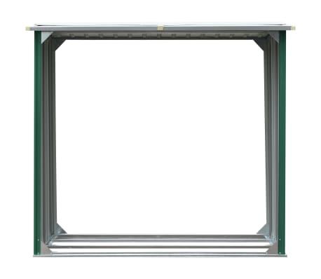 vidaXL Malkinė, žalios spalvos, 172x91x154cm, galvanizuotas plienas[3/6]