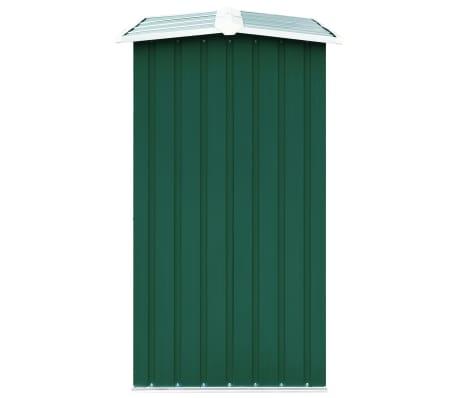 vidaXL Malkinė, žalios spalvos, 172x91x154cm, galvanizuotas plienas[4/6]