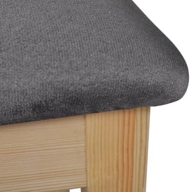 vidaXL Bar Chairs 4 pcs Wood[5/6]