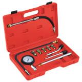 vidaXL Testeur de compression pour moteur à essence 12 pcs