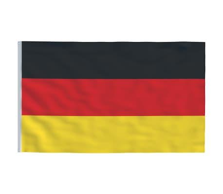 vidaXL Steagul Germaniei, 90 x 150 cm