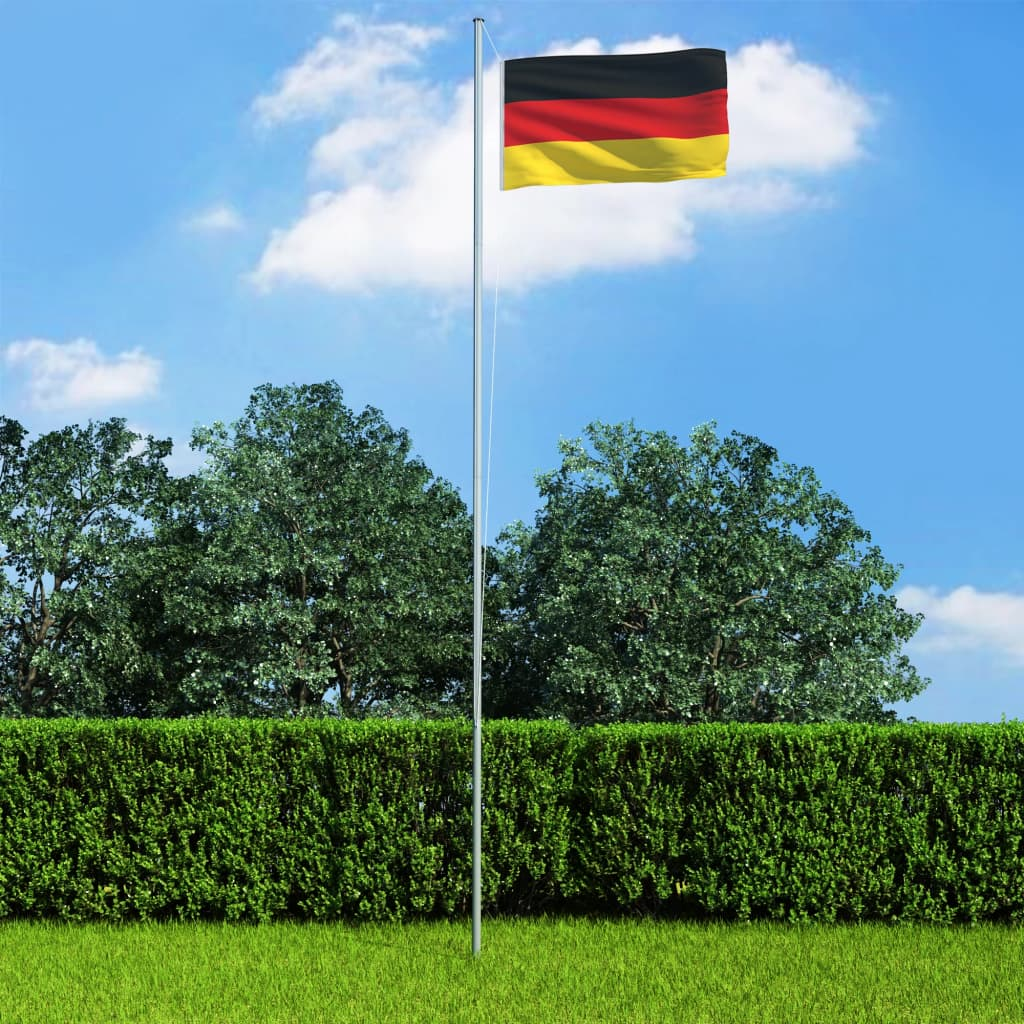vidaXL Německá vlajka 90 x 150 cm