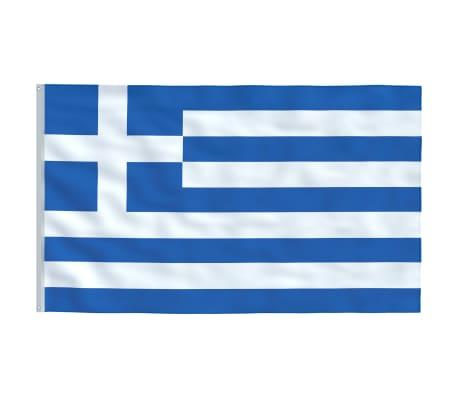 vidaXL Steag Grecia, 90 x 150 cm