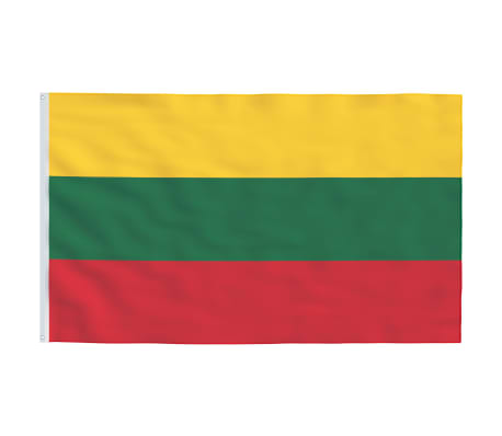 vidaXL Steag Lituania, 90 x 150 cm