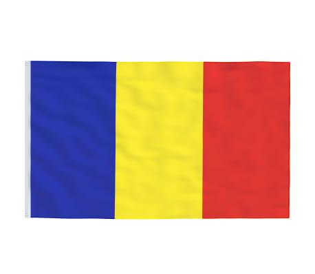 vidaXL Steag România, 90 x 150 cm