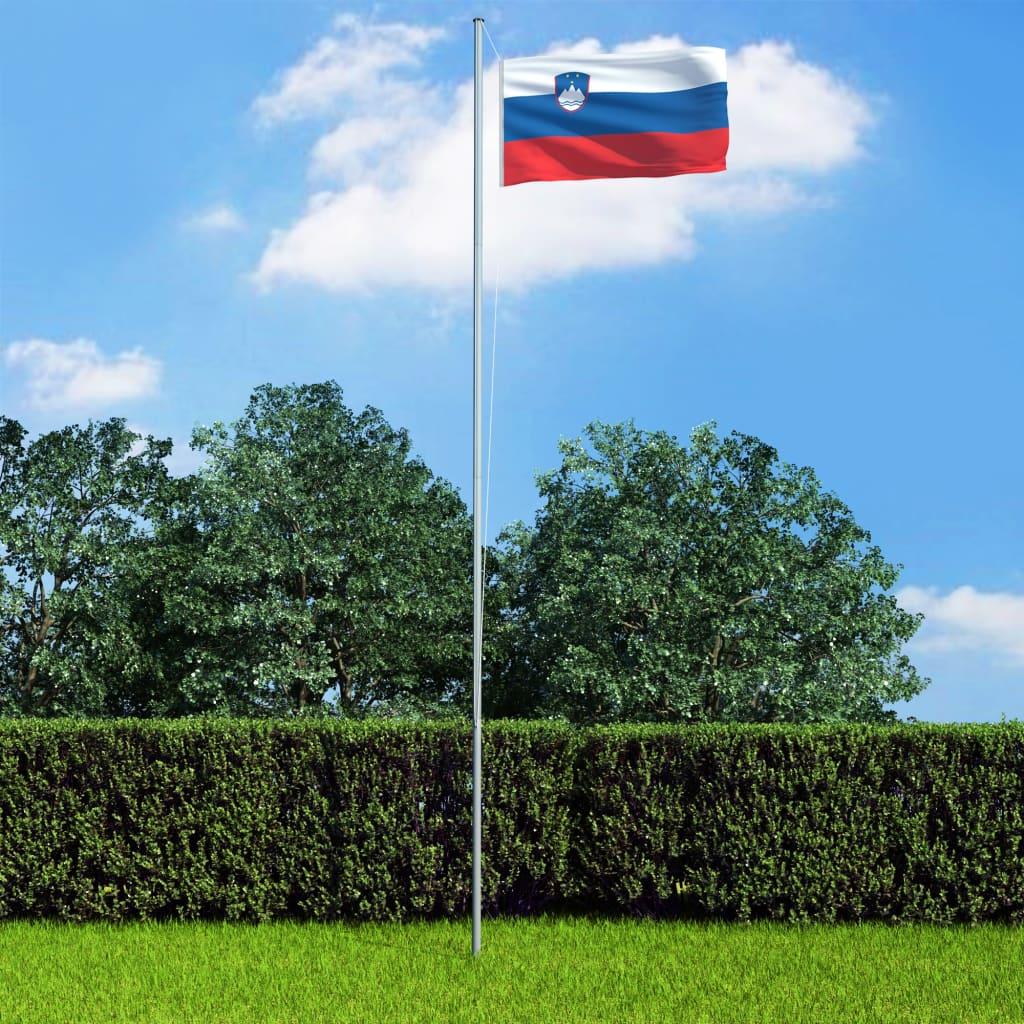 vidaXL Slovinská vlajka 90 x 150 cm