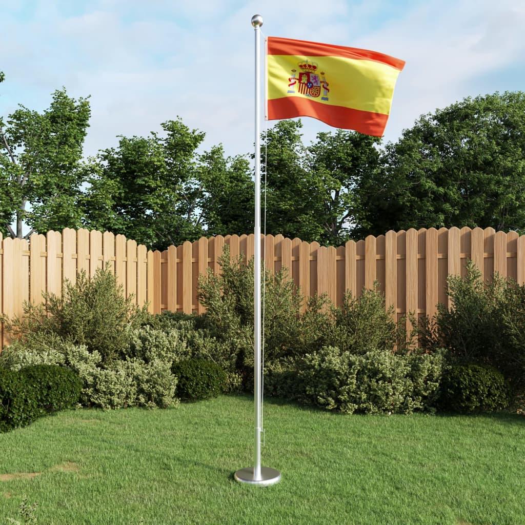 vidaXL Španělská vlajka 90 x 150 cm