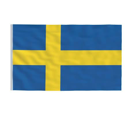 vidaXL Steag Suedia, 90 x 150 cm