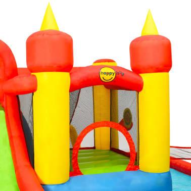 Happy Hop Château gonflable avec toboggan et piscine 410x385x220cm PVC[6/7]