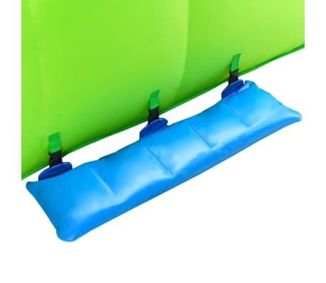 Happy Hop Toboggan à eau gonflable avec pataugeoire 600x215x255 cm PVC[7/10]