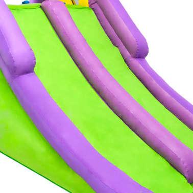 Happy Hop Toboggan à eau gonflable avec pataugeoire 600x215x255 cm PVC[8/10]