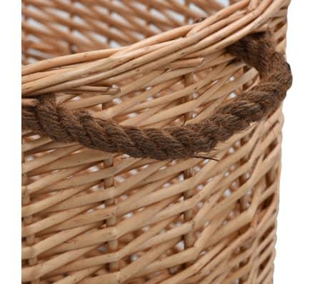 vidaXL Houtmand met handvatten 78x54x34 cm natuurlijk wilgenhout[3/7]
